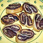recette Palmiers chocolat/noisette