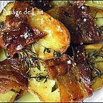 recette Pommes de Terre au four, Thym et Romarin