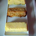 recette Lingots de polenta au parmesan et fromage de chèvre