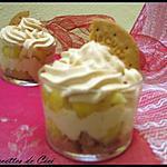 recette Trifle au dulce de leche & biscuits et ses pommes fondantes