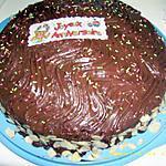 """recette mon gâteau au yaourt façon """"gâteau d'anniversaire"""""""