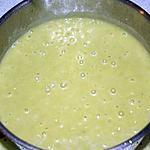 recette Velouté De Poireau Avec Un Reste De Feuilles Vertes