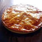recette GALETTE DES ROIS A LA FRANGIPANE
