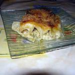 recette cannelloni courgettes saumon grevettes