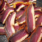 recette Magret de canard séché maison