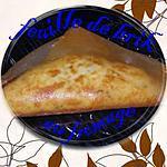 recette feuille de brick au pomme de terre et au fromage