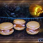 recette Macarons au foie gras