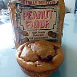 recette Moelleux à la farine de cacahuète