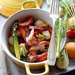 Cocotte de légumes croquants d'Alain Ducasse