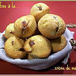 recette Muffins à la crème de marron
