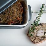 recette Terrine de lièvre aux cèpes et à l'armagnac
