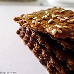 recette Crackers multi graines au miel