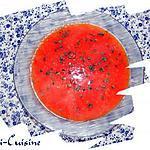 recette Soupe rapide vitaminée aux carottes et tomates