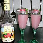 cocktail litchi-grenadine sans alcool