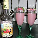 recette cocktail litchi-grenadine sans alcool
