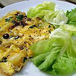 recette Omelette aux champignions