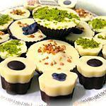 recette COROLLES AUX TROIS CHOCOLATS