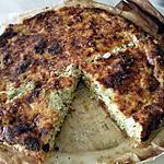 recette tarte au poisson et poireau