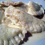 recette Raviolis de spéculoos et foie gras et sa sauce à la cannelle