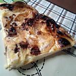 tarte aux pommes et lait concentré sucré