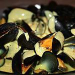 recette Moules sauce curry