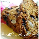 recette Pain aux bananes, poires et chocolat Miracle Whip