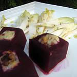recette Betteraves gratinées au roquefort