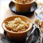 Gratin de macaronis aux trois fromages