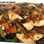 recette SHOP SUEY DE POULET