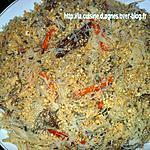 recette boeuf aux vermicelles de riz