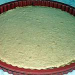 recette Tarte à la confiture de fraises et meringue de noix