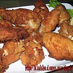 recette Ailes et pilons de poulet panés