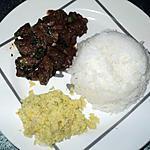 recette PORC AU VIN ROUGE (civet)