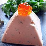 recette Mousse de saumon frais au cognac
