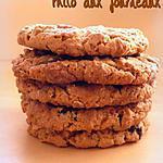 recette Cookies aux flocons d'avoine & au beurre de cacahuètes