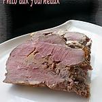 recette Gigot d'agneau au foie gras & au pain d'épices