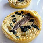 recette Tartelette à la brousse & aux anchois