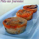recette Mini-clafoutis au chorizo, tomates séchées & fêta