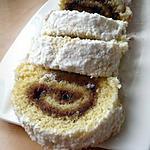Biscuit roulé à la confiture