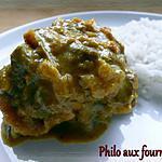 recette Curry de veau