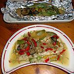recette filet de baudroie aux petits legumes