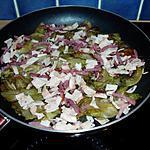 recette poellee de sucrines  au bacon