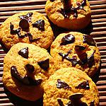 Cookies d'Halloween au potimarron