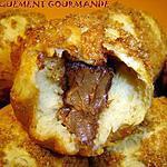 recette Briochettes noisette et coeur de pralinoise