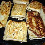 recette crêpe au 3 fromages