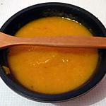 recette Velouté lentilles corail au carotte & au safran