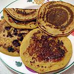 recette Pancake au potiron & au lait de soja