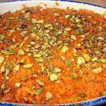 recette Halwa aux carottes (recette indienne)