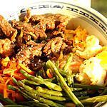 recette Bibimpap, bol coréen