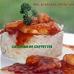 recette COLOMBO DE CREVETTES